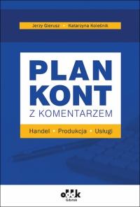 plan kont z komentarzem 2020 Handel, produkcja, usługi